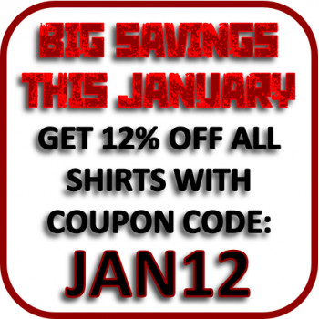 January Sale - Get 12% OFF all Shirts