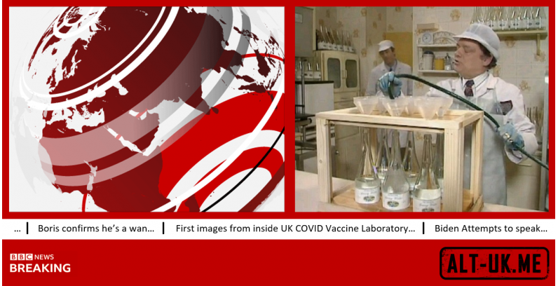First images from inside UK COVID Vaccine Laboratory