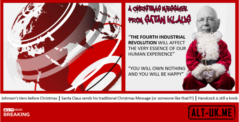 Santa Claus sends his traditional Christmas Message