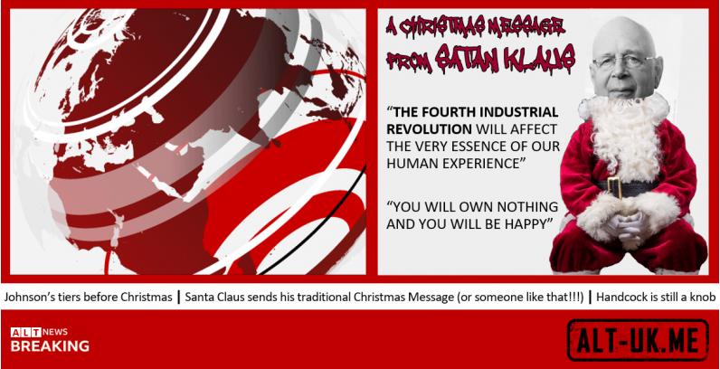 Santa Claus sends his traditional Christmas Message