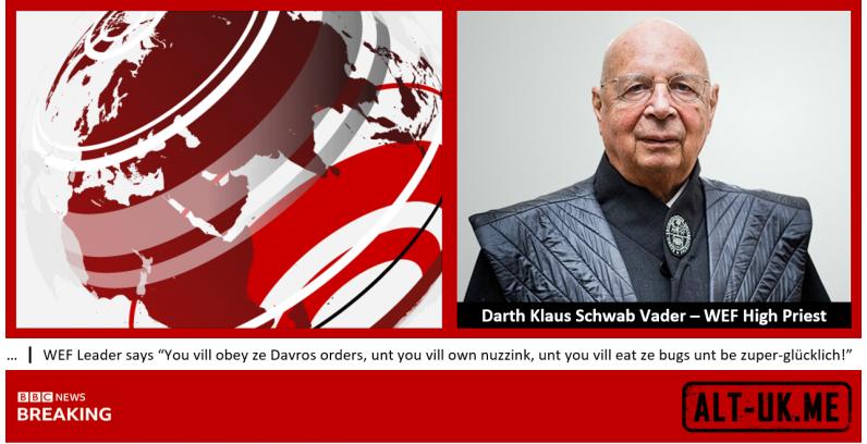 Darth Klaus Schwab Vader – WEF High Priest