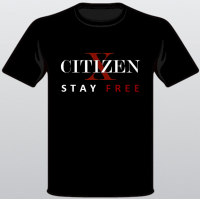 CITIZEN X - STAY FREE T-Shirt