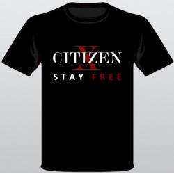 CITIZEN X - STAY FREE T-Shirt